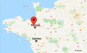 ELECTROMAGNETIQUE.COM se situe en Bretagne à 12 km à l'ouest de Rennes. Au 3 rue de la Tertrais dans la zone d'activité de la Hautière à L'HERMITAGE (35590)