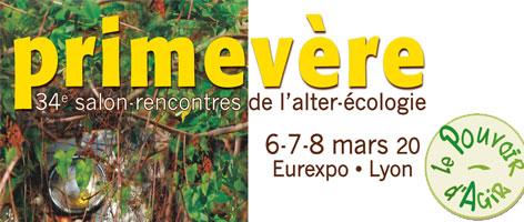 salon Primevère à Lyon du 6 au 8 mars 2020