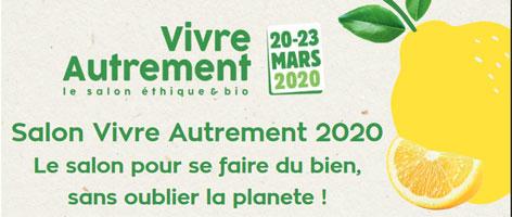salon vivre autrement du 20 au 23 mars 2020 à Paris