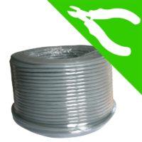 câble blindé biohabitat 3g1.5 mm² 05VVUBPA3G1.5 (à la coupe)