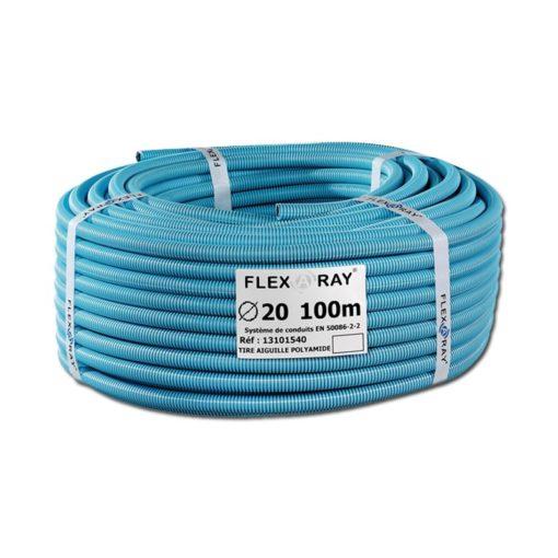 La gaine blindée Flex-a-ray permet une excellente atténuation du champ électrique de plus de 99%.
