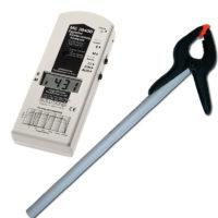 Le ME3840B est un appareil de mesure, semi-professionnelle, de champs magnétiques et de champs électriques basses fréquences (de 5Hz à 100KHz) avec filtre de fréquence.