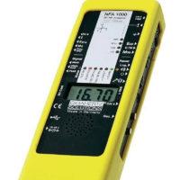 Le NFA1000 est un analyseur basses fréquences électriques et magnétiques à sonde 3D et enregistreur et analyseur de données. Pour l'analyse la plus profonde. Le chef d'oeuvre de Gigahertz-Solutions