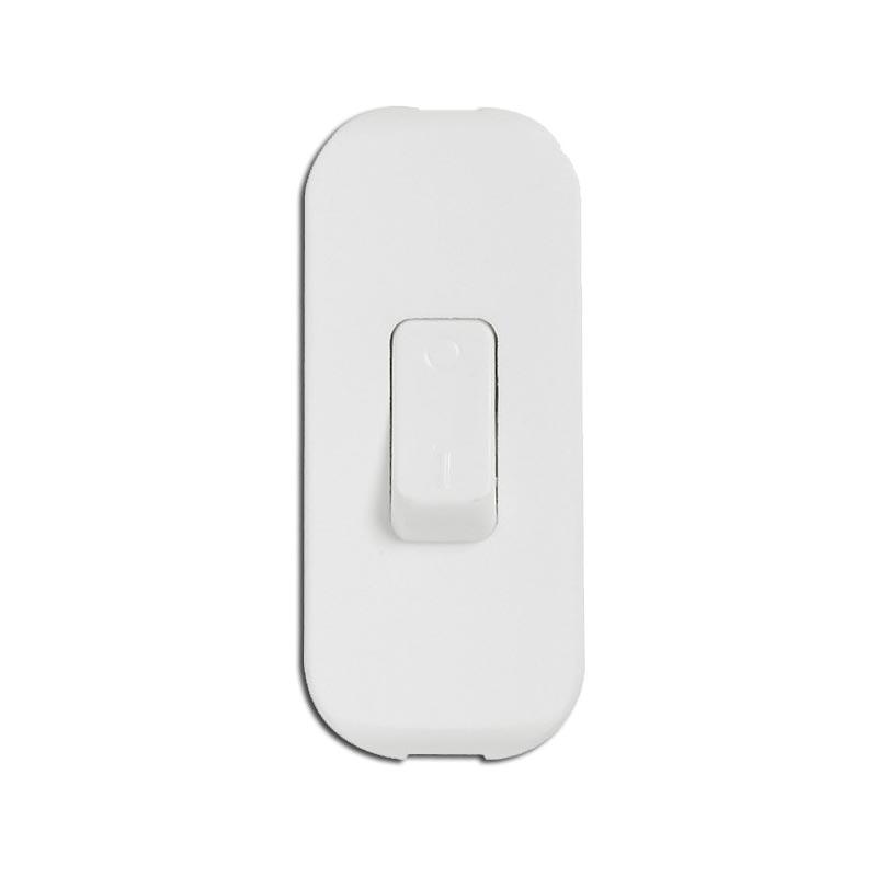 Interrupteur Bi-polaire Blanc