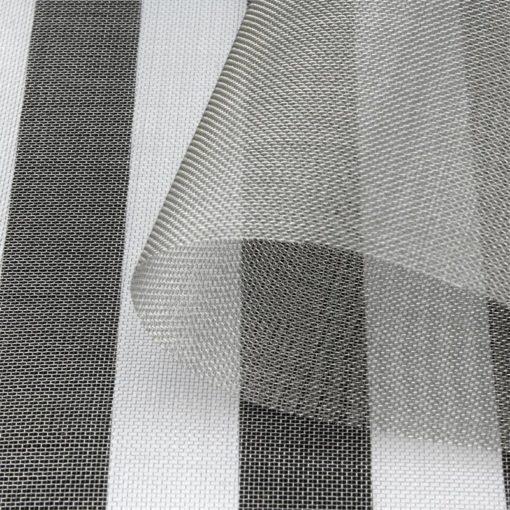 tissu anti-ondes métallique inox V4A03 permettant une atténuation des hyperfréquences de 55 dB (80 dB avec 2 couches)
