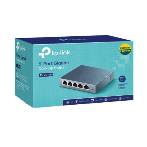 Le switch Ethernet 5 Ports RJ45, également appelé HUB RJ45, est une Multiprise ethernet afin agrandir les réseaux informatiques filaires.