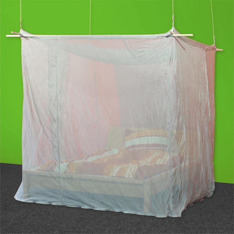 baldaquin de forme box pour lit 2 personnes en tissu anti ondes silver tulle. Black Bedroom Furniture Sets. Home Design Ideas