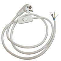 Cordon (câble) blindé avec interrupteur bipolaire