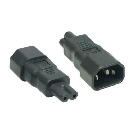 Adaptateur 2 pôles C7 pour cordon blindé pour matériel informatique_2_poles_C7_cordon_03