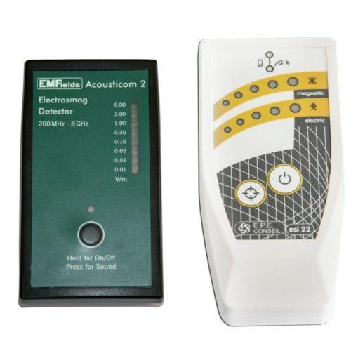 pack de détecteurs d'ondes électromagnétiques Acousticom 2 (AC2) + ESI22
