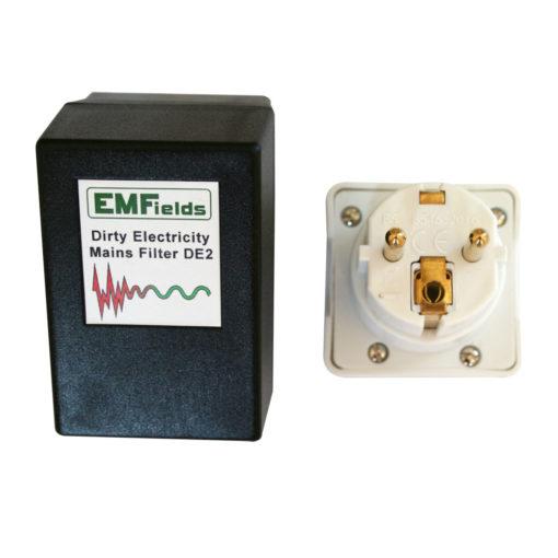 Se branche sur une prise électrique et filtre l'électricité sale de votre installation électrique émis par les lampes fluocompactes, les onduleurs de panneaux photovoltaïques, ou le CPL Linky...