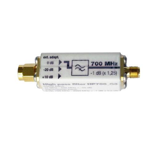 filtre passe-haut HP700 de chez GIGAHERTZ SOLUTIONS