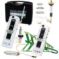 Le kit HFEW59BD PLUS de chez GIGAHERTZ SOLUTIONS permet une analyse professionnelle et complète des pollutions électromagnétiques sur une très large bande des Hyperfréquences allant de 27 MHz à 10 GHz. Ce kit complet comprend les analyseurs HF59D (27 MHz - 3.3 GHz) et HFW59D (2.4 - 10 GHz) avec tous leurs accessoires (antennes 3D, atténuateurs, amplificateur, pré-amplificateurs, filtres) ainsi qu'une mallette de transport.