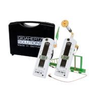 Le kit GIGAHERTZ SOLUTIONS HFEW35C est Kit comprenant les analyseurs hyperfréquences HFE35C et le HFW35C. Ce kit permet de couvrir une plage de mesure allant de 27 MHz à 6 GHz.