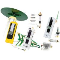 Le kit le plus complet de chez GIGAHERTZ SOLUTIONS. Le pack comprend un mesureur basses fréquences NFA1000, le pack hautes fréquences HFEW59DB PLUS ainsi que d'autres accessoires (le support PM1, l'adaptateur PM5S et la sonde TCO3). Un pack très complet pour une analyse complète des pollutions électromagnétiques hautes et basses fréquences sur une très large gamme de fréquences (5 Hz - 1 MHz et 27 MHz - 10 GHz).