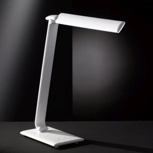 Lampe de bureau à LED sans ondes avec port USB