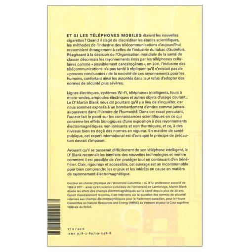 """livre """"ces ondes qui nous entourent"""" de Martin Blank"""