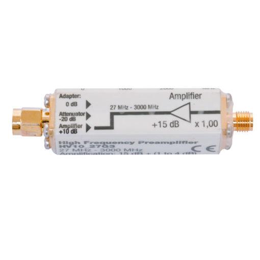 pré-amplificateur HV10_27G3 de chez GIGAHERTZ SOLUTIONS