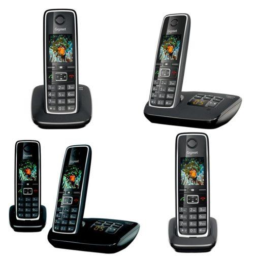 Téléphone sans fil ECO-DECT gamme GIGASET C530
