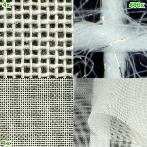 Le tissu Swiss Shield Naturell est un tissu anti-ondes hautes fréquences à base de coton avec une atténuation de 38 dB