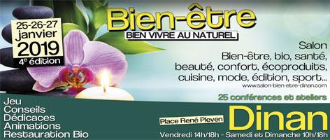 Salon Bien-Etre – Vivre au Naturel 2019 à Dinan
