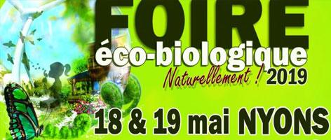 foire éco-biologique naturellement 2019 à NYONS (26110)