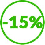 remises quantitatives -15%