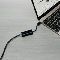 Adaptateur USB-C / RJ45 Gigabit belkin f2cu040 pour tablettes et ordinateurs portables