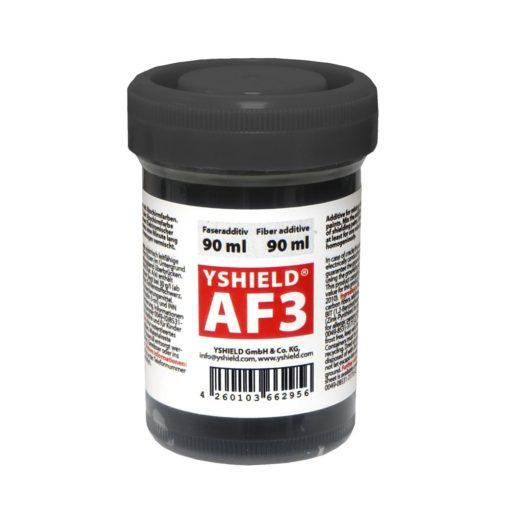 additif Yshield AF3 à base de fibres de longues fibres de carbone afin d'amélioré la conductivité électrique des peintures anti-ondes Yshield