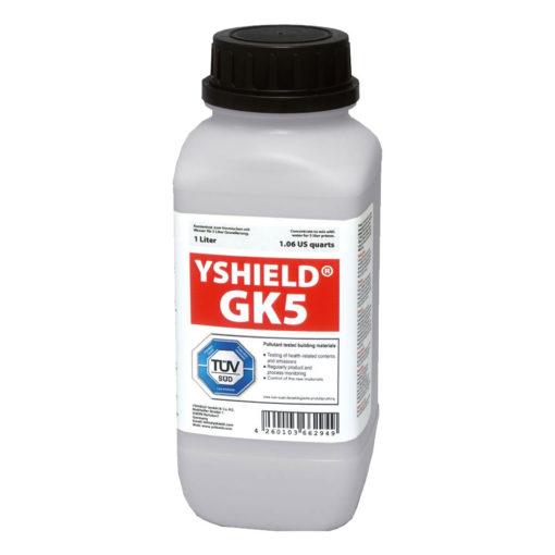 concentré primaire d'accroche Yshield GK5 constituant une couche d'accorche avant et après peintures anti-ondes YSHIELD MAX54, HSF54, HSF64 et NSF34