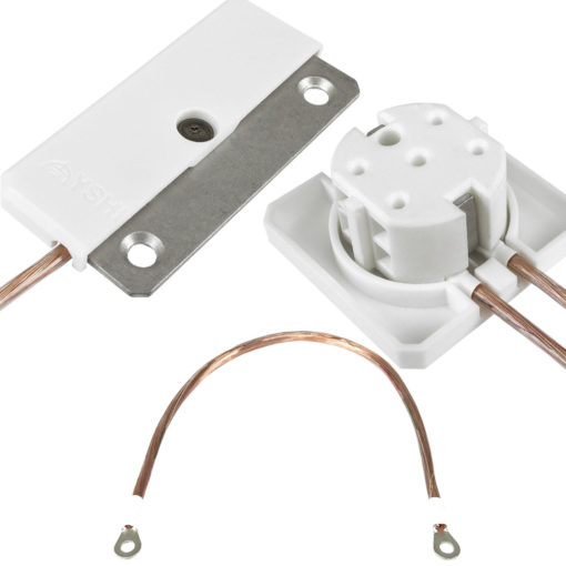 kit de mise à la terre Yshield comprenant une plaque GS2, un cordon GL20 ainsi q'une prise GP1